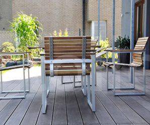 Dřevěná terasa nadchne majitele i návštěvu