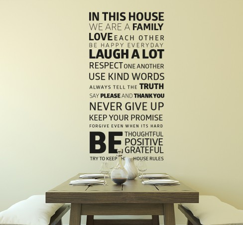 Pořiďte si textové samolepky. Změní nejen stěny v interiéru, ale také nábytek, auto a mnohé jiné.