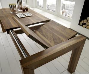Jak a kde vybrat kvalitní rozkládací jídelní stůl