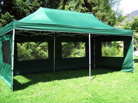 Nůžkové stany pro párty i pro skladovací prostor