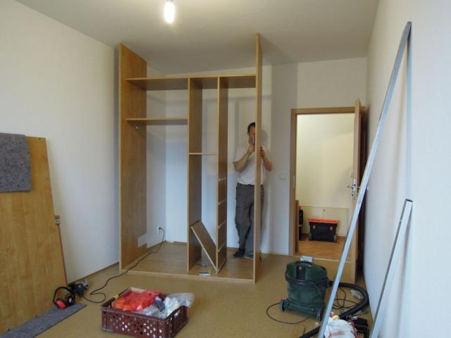 Montáž nábytku – zavolejte a máte klid