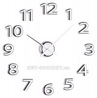 Pořiďte si originální a netradiční nalepovací hodiny, oživíte váš interiér