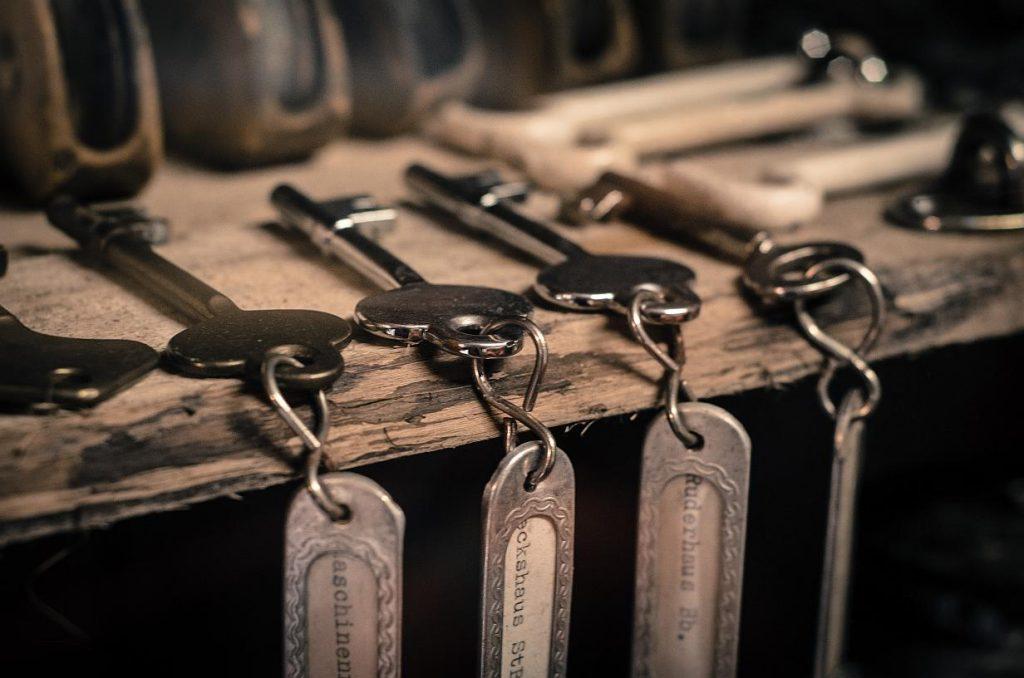 1. Mějte rezervní klíč