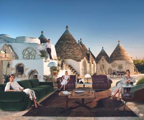 Nová jarní kolekce pohovek Natuzzi Italia za zaváděcí ceny